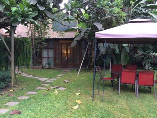 Posada Monterrico: my bungalow