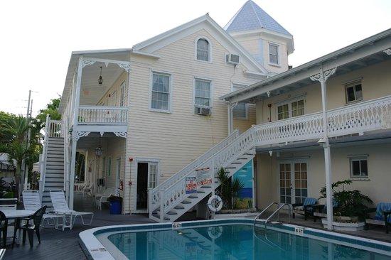 The Palms Hotel- Key West: La nostra camera nell'angolo ... forse la peggiore ...