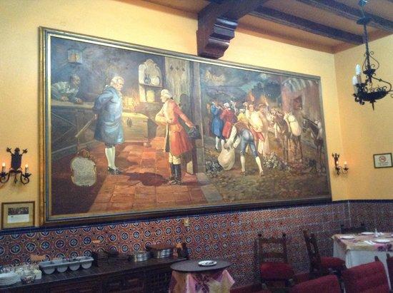 Posada Santa Fe: Comedor
