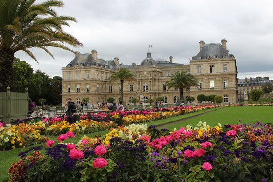 Jardin du luxembourg im august picture of luxembourg for Jardin du luxembourg
