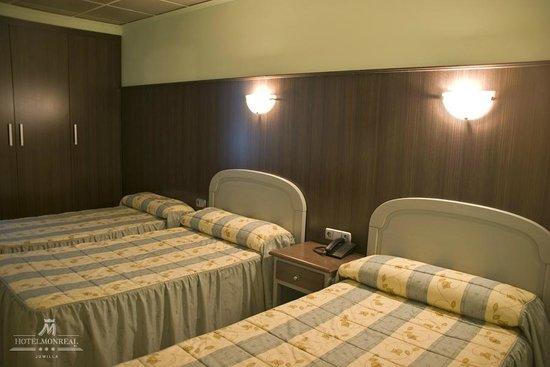 Hotel Monreal: Habitación Triple