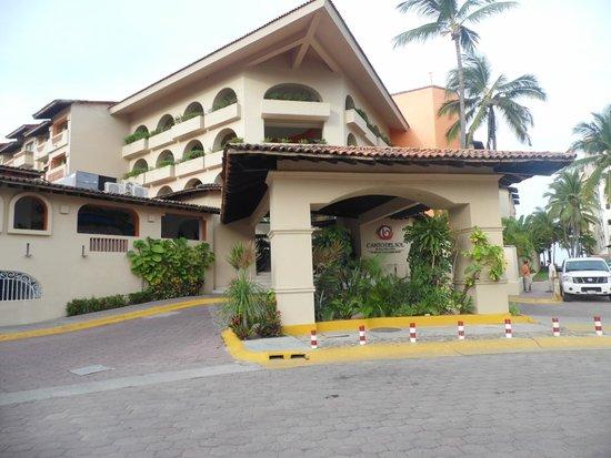 Canto Del Sol Plaza Vallarta: Front of the hotel