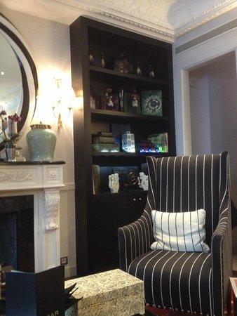 Hotel Keppler: Lobby y sala de estar