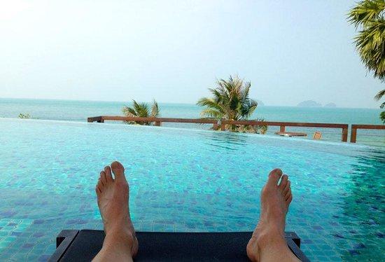 Conrad Koh Samui Resort & Spa: We did a lot of this.