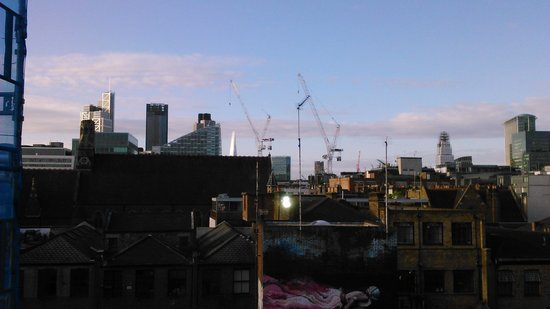 The Hoxton, Shoreditch : View from room of The Shard