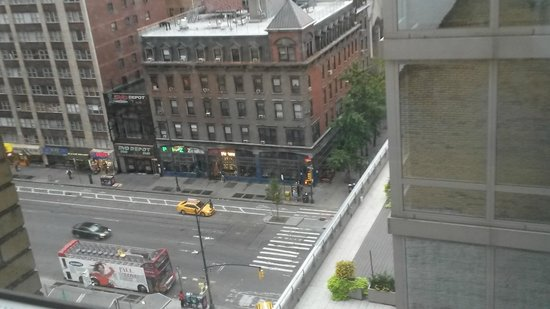 Paramount Hotel New York: View from out window