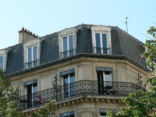 Hôtel Odessa Montparnasse: Vue de la chambre