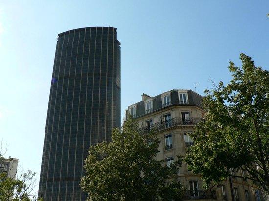 Hôtel Odessa Montparnasse: Avec la tour