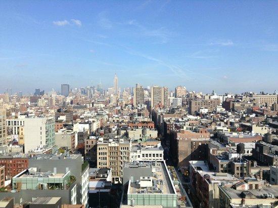 Sheraton Tribeca New York Hotel: Vista do Club Lounge