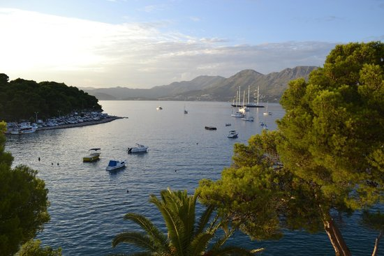 Hotel Cavtat: Room view from 307