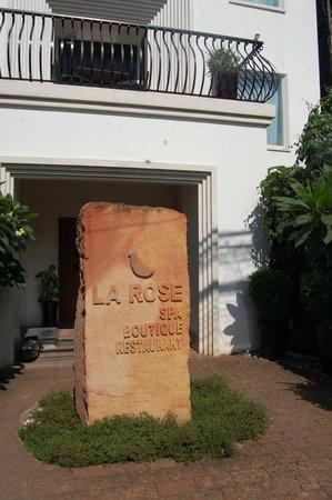 La Rose Boutique Hotel & Spa: Eingangsbereich