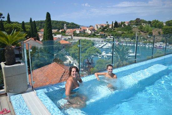 Hotel Cavtat: Roof top pool