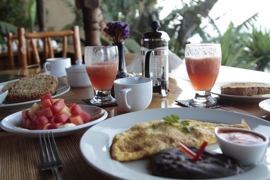 Laguna Lodge Eco-Resort & Nature Reserve: Delicious food!