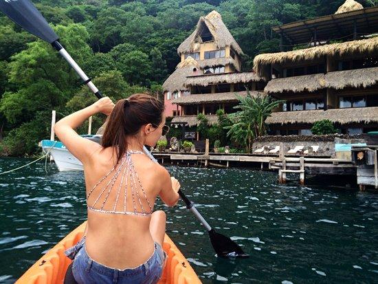 Laguna Lodge Eco-Resort & Nature Reserve: Free Kayaks provided!