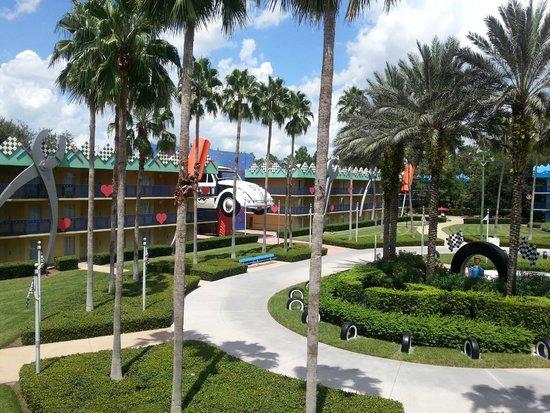 Disney's All-Star Movies Resort: Zona Love Bug