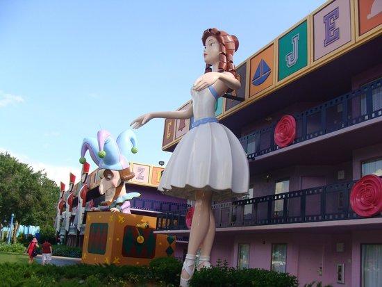 Disney's All-Star Movies Resort: Zona Toy Story
