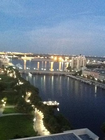 Tampa Marriott Waterside Hotel & Marina: view from my balcony!