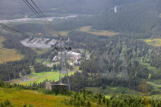 Hotel Alyeska : View from top