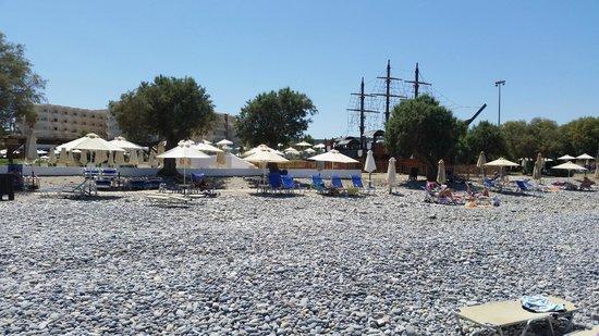 Louis Creta Princess Beach Hotel: plaża