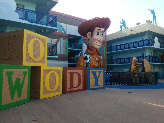 Disney's All-Star Movies Resort: Zona Toy Store