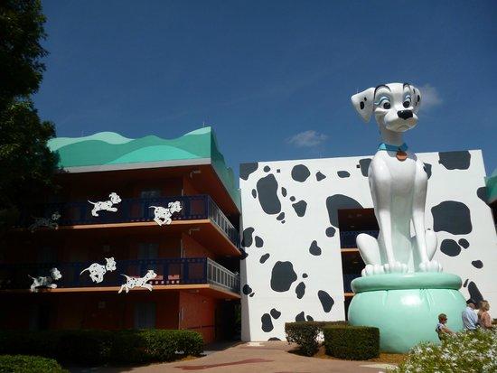 Disney's All-Star Movies Resort: Zona 101 Dálmatas