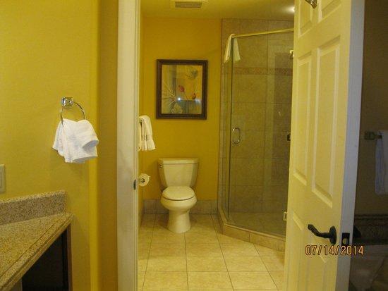 Marriott's Canyon Villas: Two bedroom Villa- shower bathroom