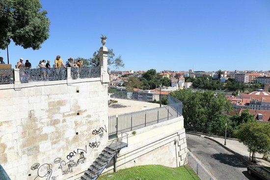 Miradouro Sao Pedro de Alcantara: view