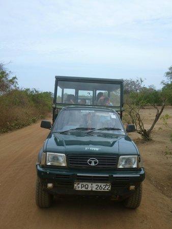 JC Guesthouse : De safari jeep