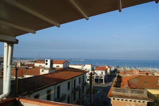 Hotel Mirage: Vista dal solarium