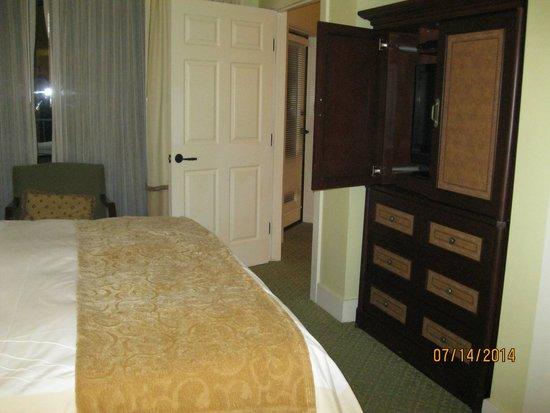 Marriott's Canyon Villas: Two bedroom Villa - master bedroom