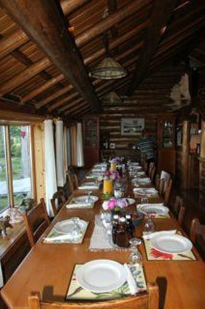Caverhill Fly Fishing Lodge: Dining Room