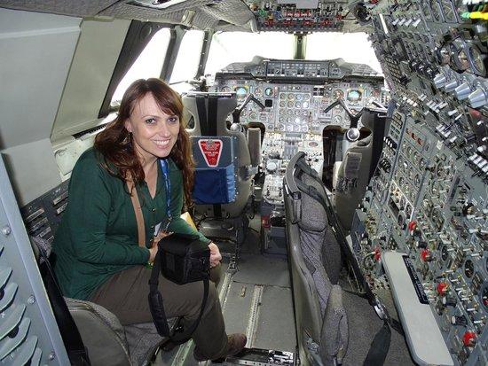 Intrepid Sea, Air & Space Museum : Cabine do Concorde