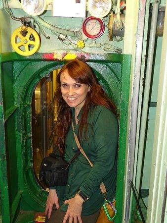 Intrepid Sea, Air & Space Museum : interior do submarino