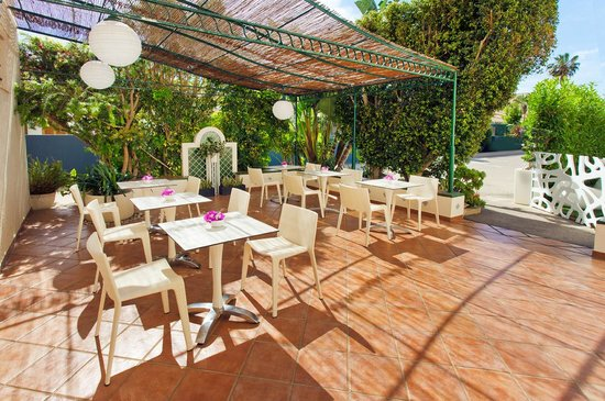 Hotel Villamor: Terraza