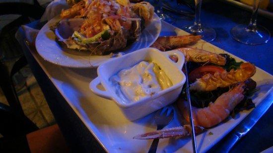 Le Scaphandre : plateau de fruit de mer