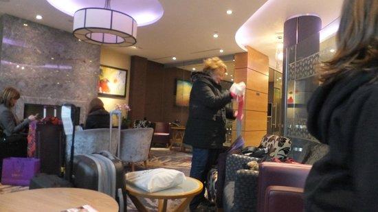 Club Quarters Hotel, Lincoln's Inn Fields: Hall - salón
