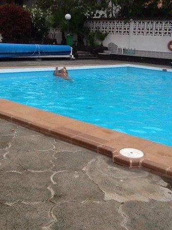 Panoramica Garden: la piscina muy fria