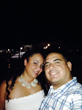 Fishing Lodge Cap Cana: night time at the resort