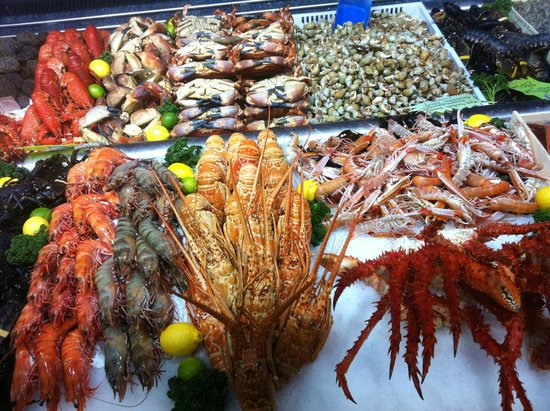 Les P'tits Mousses: Cascade de crustacés
