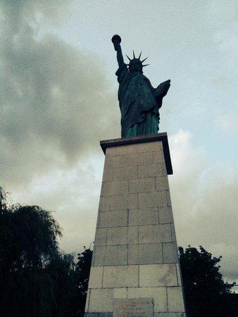 Statue de la Liberté  : Eccola