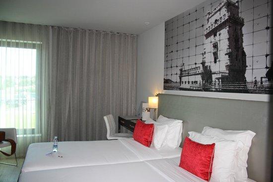 TRYP Lisboa Aeroporto Hotel : letti