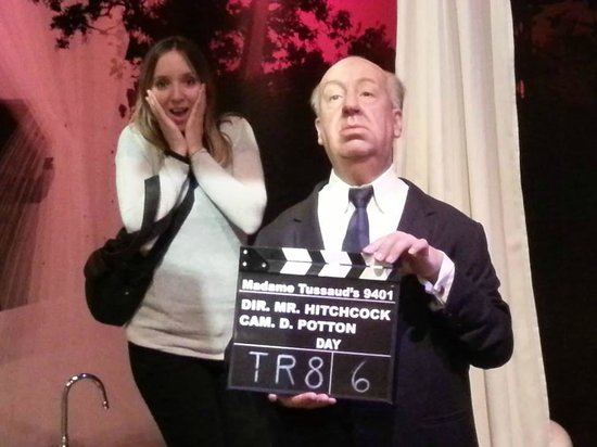 Madame Tussauds Hollywood: haha