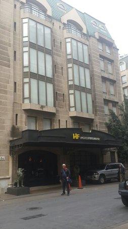 Hotel Fundador: Fachada do hotel
