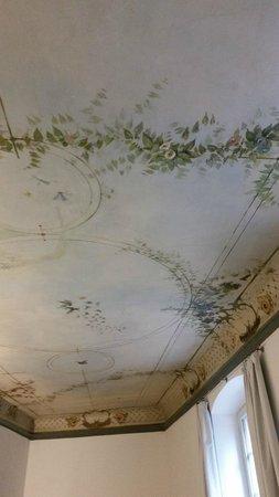 ArtHotel Heidelberg: Beautiful ceiling fresco