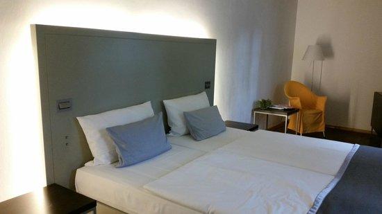 ArtHotel Heidelberg: Bedroom