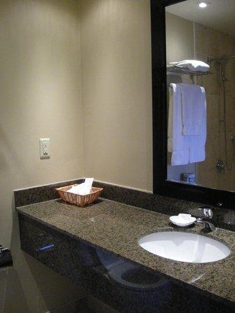 Moffat Inn: Clean and spacious bathroom