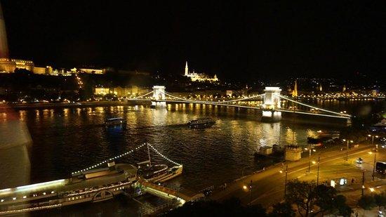 InterContinental Budapest: Vista do Quarto