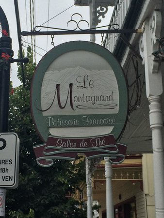 Patisserie Le Montagnard : Sign