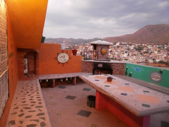 Casa de Dante Hostel : Terrasa
