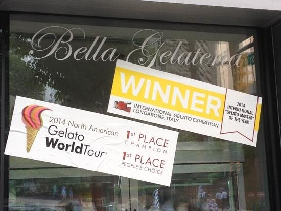 Bella Gelateria & Gelato : Proof is in the pudding!